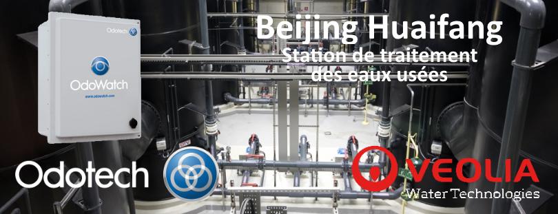 Odotech, Beijing, Veolia, station de traitement des eaux usées