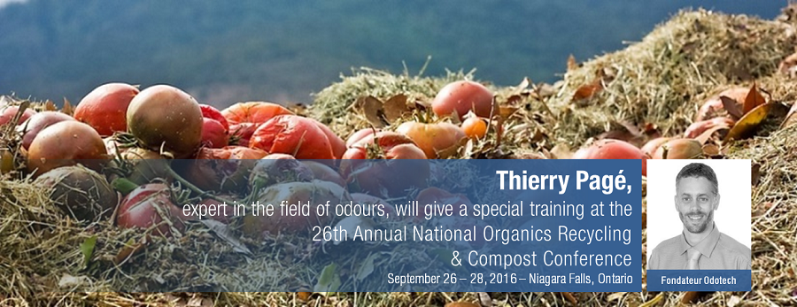 Odotech will be present at the the 26th Annual National Organics Recycling and Compost Conference