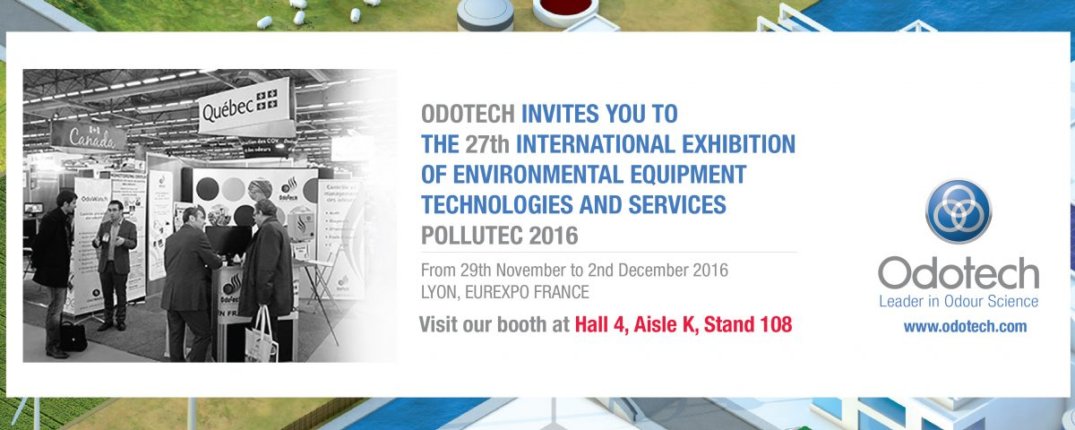 Odotech at the 27th International Exhibition of Environmental Equipment Technologies and Services Pollutec 2016