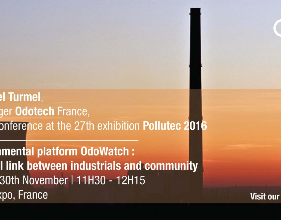 Odotech invites to the conference presented at Pollutec 2016