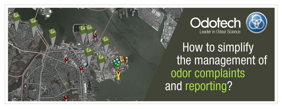Odor complaints and Observations Management Solution