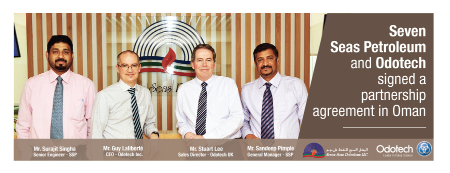 Seven Seas Petroleum and Odotech signed a partnership agreement in Oman