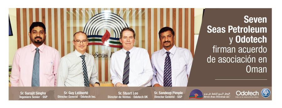 Seven Seas Petroleum y Odotech unen esfuerzos en Oman